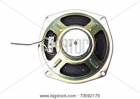 Audio Speaker Isolated