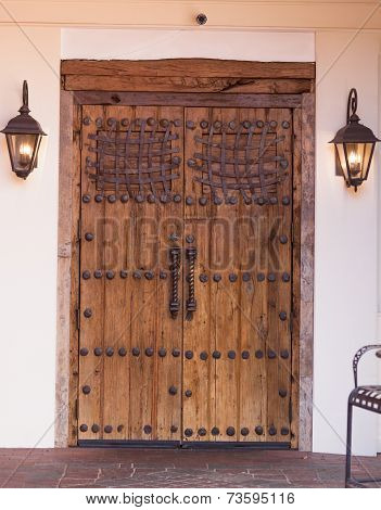 Iron Accented Doors