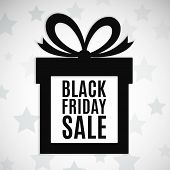 picture of packages  - Black friday sale background - JPG