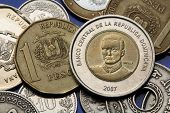 picture of pesos  - Coins of the Dominican Republic - JPG