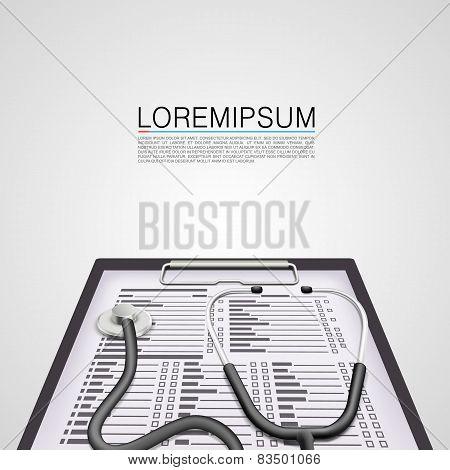 Medical examination art cover