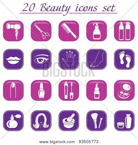 Beauty And Makeup Icons