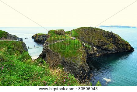 Carrick-a-rede rope bridge (Northern Ireland)