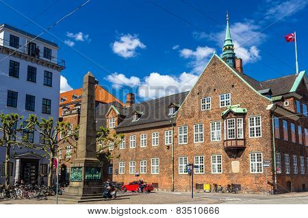 Bispetorv And Bishop's House In Copenhagen, Denmark