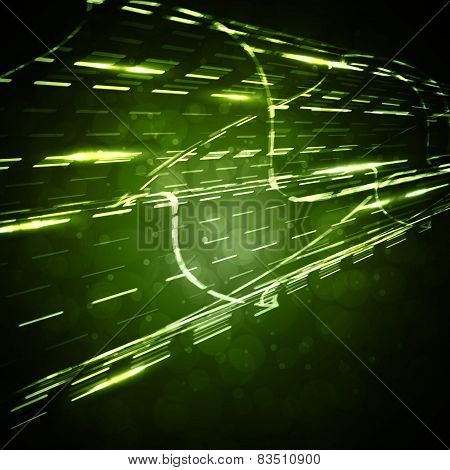 Abstract  background, straight motion lines, futuristic illustration