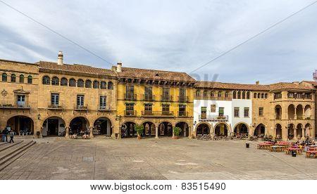 Plaza Mayor In Poble Espanyol - Barcelona