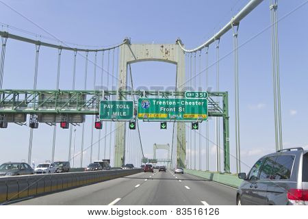 Walt Whitman Bridge Traffic