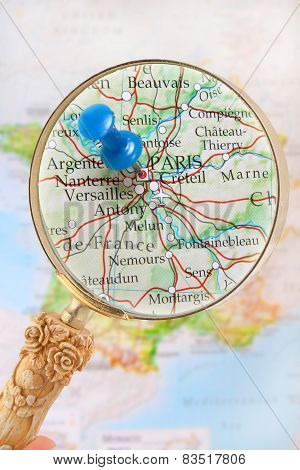 Looking In On Paris, France, Europe