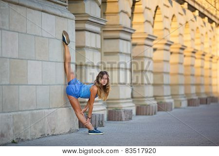 Young Girl Makes Low Balance