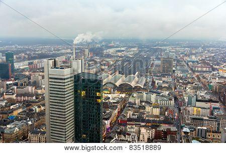 View Of Frankfurt Am Main - Hesse, Germany