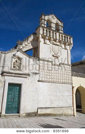 Mater Domini church. Matera. Basilicata.
