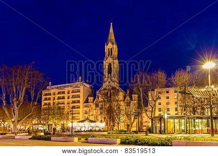 Church St. Perpetue And St. Felicite Of Nimes - France