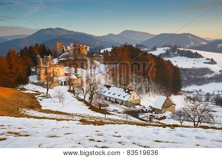 Winter in Slovakia.