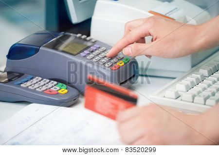 Checking The Credit Card