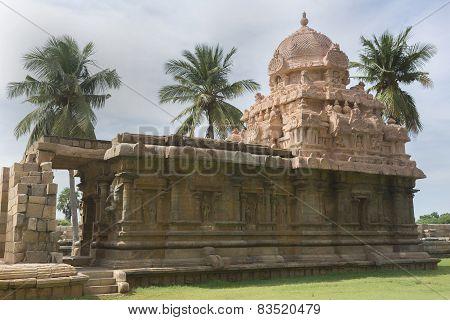 Lord Murugan Shrine At Gangaikunda Temple.