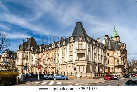 A Historic Building In Luxembourg City