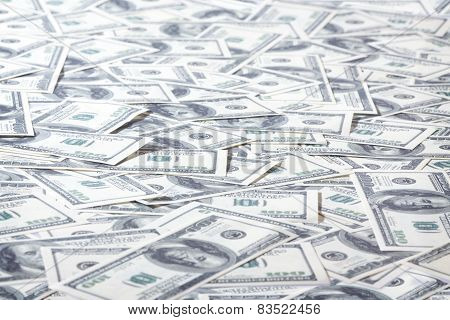 Field Of One Hundred Dollars Notes