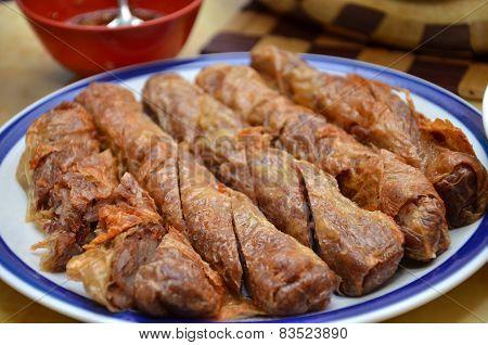 Five Spice Pork Rolls