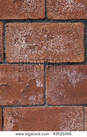 Spalled Brick