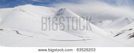 Tibet Landscape Panorama