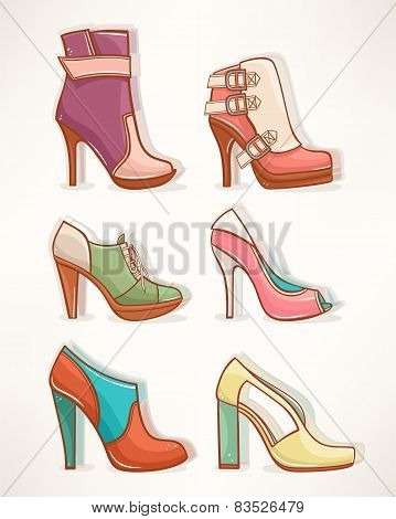 Models Of Women's Shoes