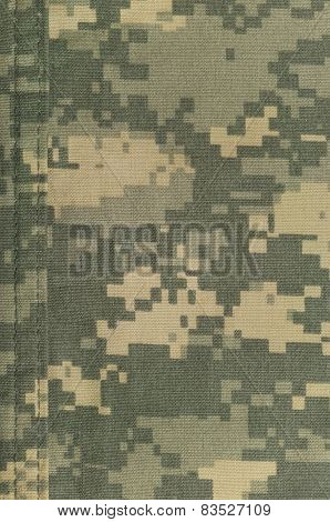 Universal Camouflage Pattern, Army Combat Uniform Digital Camo, Double Thread Seam, Usa Military ACU