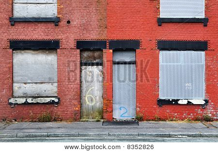 Derelict Terraced House