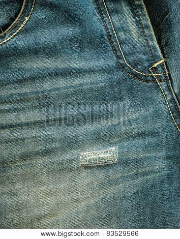 Background And Texture Of Jeans