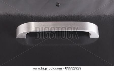 image of one Black Metal Case With Handle
