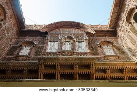 Architecture Of Meherangarh Fort, Jodhpur