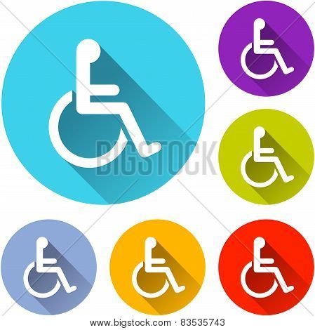 Wheelchair Icons
