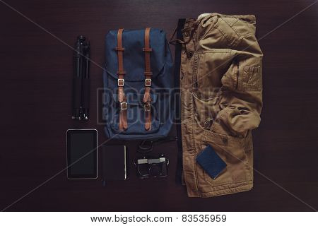 Set Of Outfit For Modern Traveler