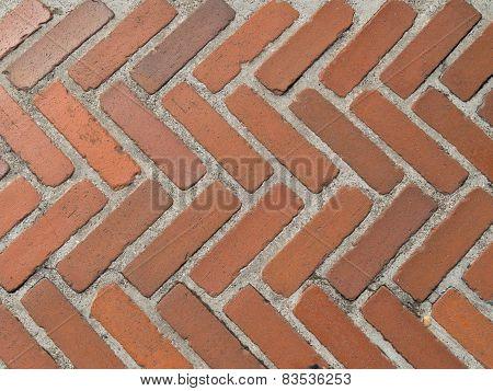 Old Brick Walkway