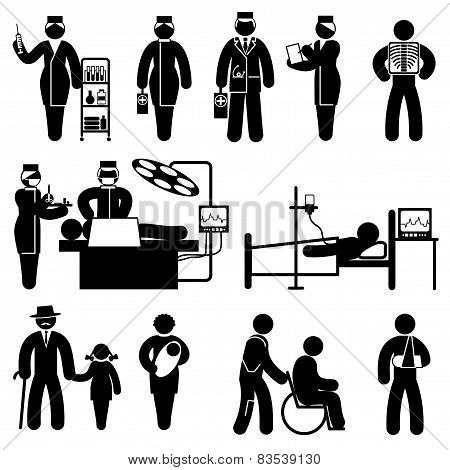 People Medicine Icons