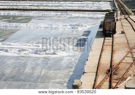 Rail Carts For Salt Transportation