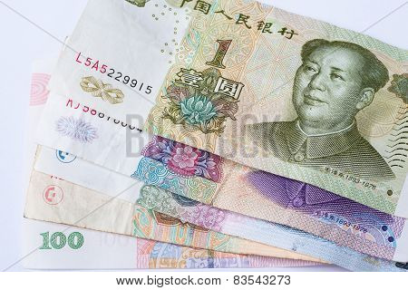 Chinese Currency Banknote