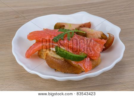 Tapas With Salmon