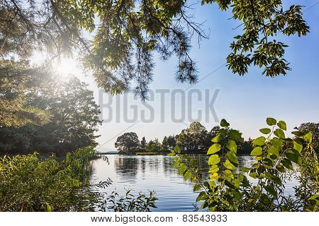 Lake Or Pond Landscape