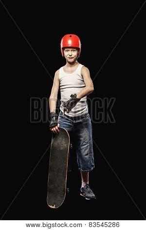 Steep Red Skater
