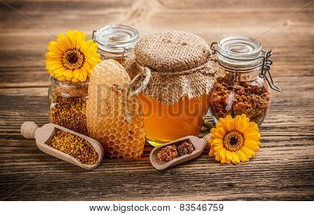 Still Life With Honey Product
