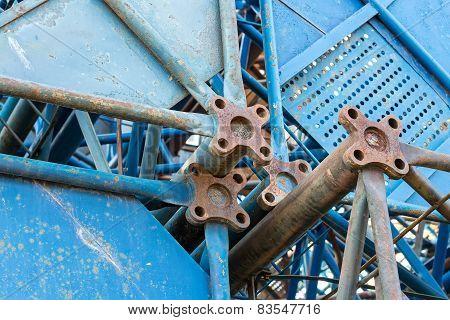 Steel Frame Of Cranes
