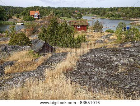 Rural Swedish village.