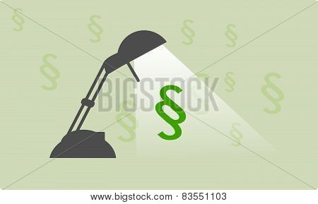 Paragraph Lamp