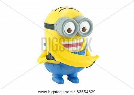 Minion Dave With Yellow Banana.