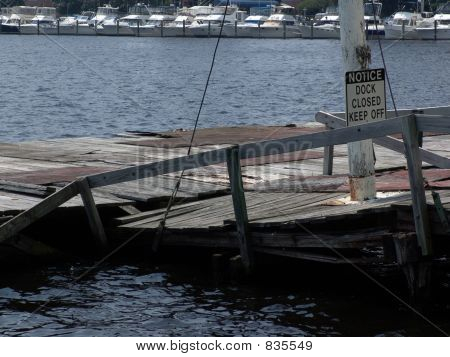 Keep off Dock