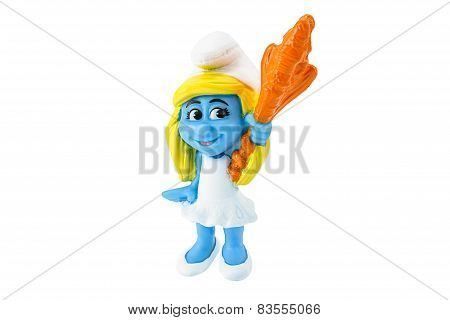 Smurfette Is A Female Smurf Who Was Created By Gargamel.