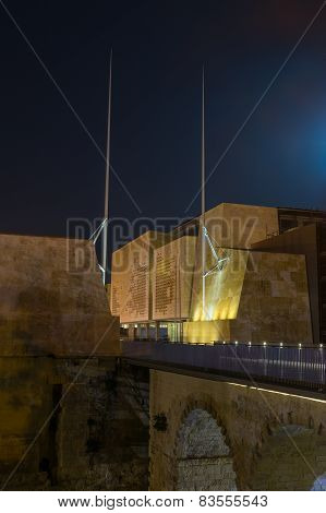 The city gates of Valletta