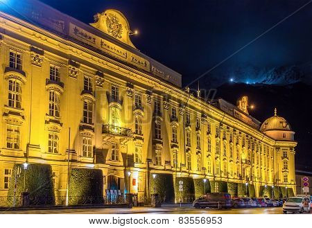 The Hofburg (imperial Palace) In Innsbruck - Austria