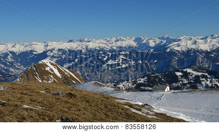 Great View From The Pizol Ski Area