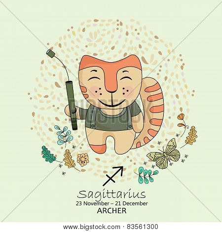 Zodiac sign - Sagittarius.